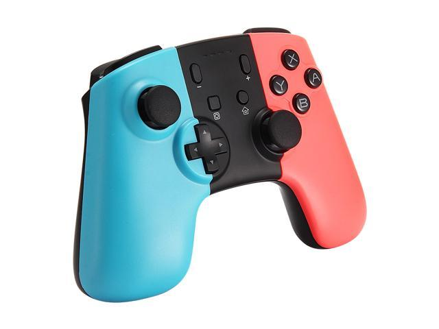 JRH-8576 Wireless Pro Controller Bluetooth V3.0 Vibration Gamepad for Switch - Blue Red