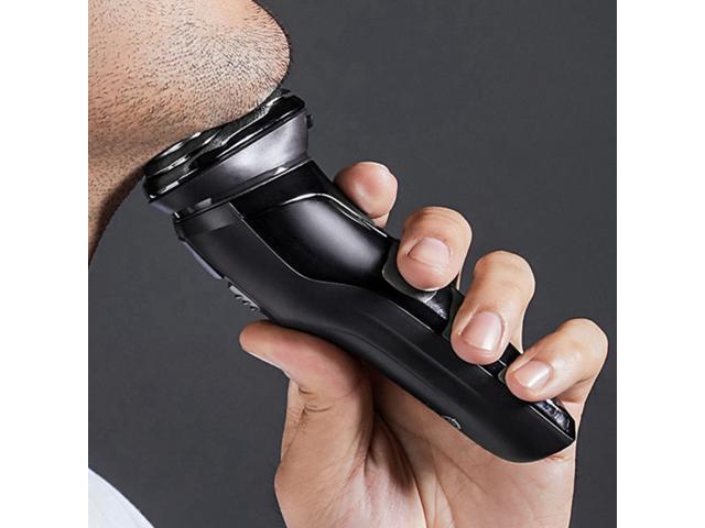 Xiaomi ES3 3D Smart Floating Blade Head Razor Water Resistant USB Charging Electric Shaver - Black