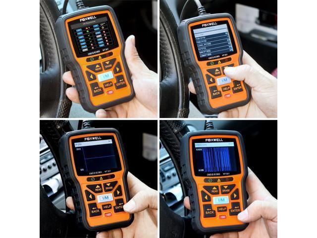 FOXWELL Nt301 Obd2 Code Scanner Universal Car Engine Diagnostic Tool Automotive Fault Code Reader CAN Obd II Eobd Scan Tool