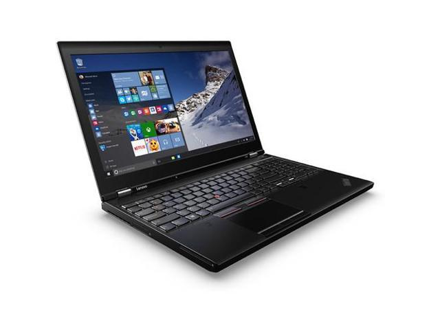 "Lenovo ThinkPad P50 20EN0013US 15.6"" (In-plane Switching (IPS) Technology) Notebook - Intel Core i7 i7-6700HQ Quad-core (4 Core) 2.60 GHz"