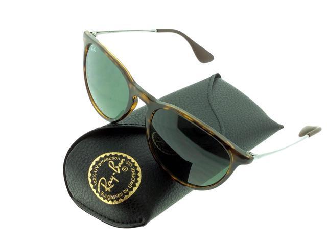 96cf0fe1268991 Ray Ban Erika Tortoise Green Lens RB4171-710-71 Sunglasses ...