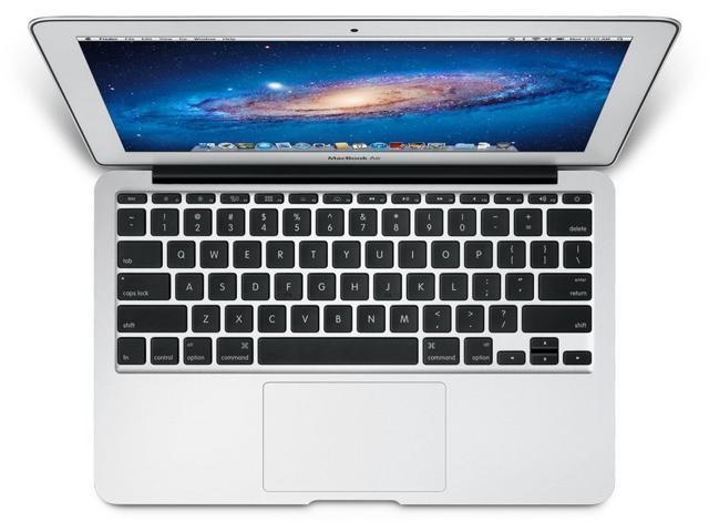 """Refurbished: Apple MacBook Air 11.6"""" Laptop Intel Core i5 1.6GHz 2GB RAM 64GB SSD OS X v10.10 Yosemite MC968LL/A (Mid-2011)"""
