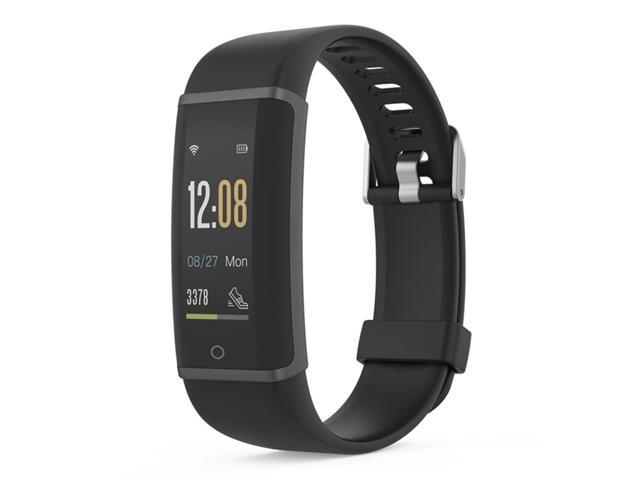 Lenovo HX03F Bluetooth 4.2 Smart Bracelet IP68 Heart Rate Moniter Pedometer Fitness Tracker For Android iOS - Black
