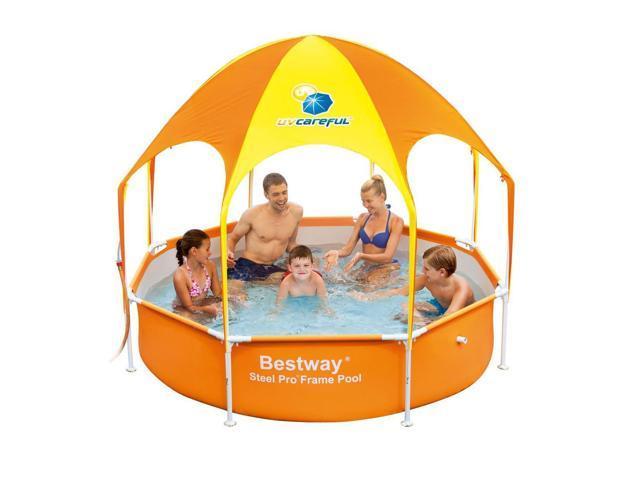 Bestway Splash-in-Shade Kids Play Pool with Canopy