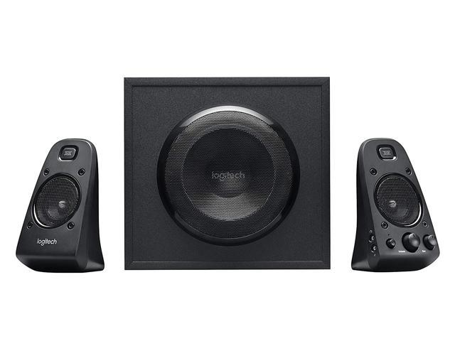 Refurbished: Logitech Z623 400 Watt 2.1 Channel THX Home Speaker System with Subwoofer