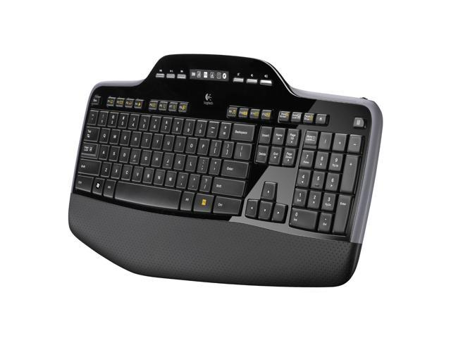Refurbished: Logitech MK710 Wireless Keyboard & Mouse Combo with Unifying Nano Receiver