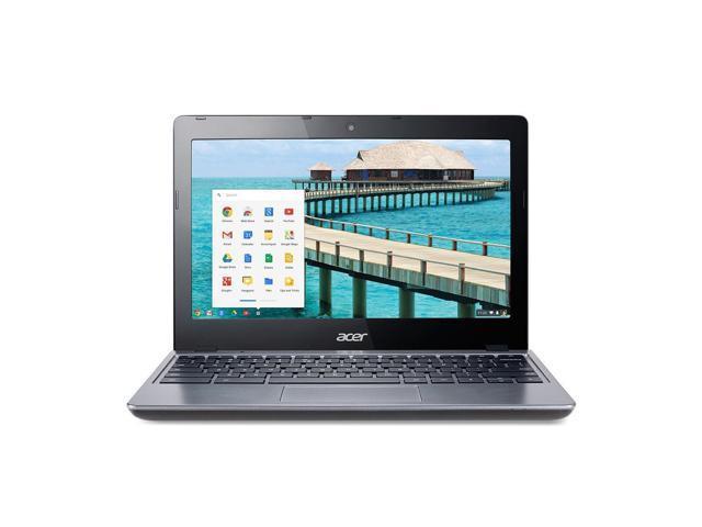 "Refurbished: Acer C720-2103 11.6"" Chromebook 16GB SSD Intel Celeron 2955U Dual-Core 1.4GHz"
