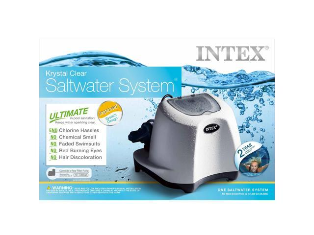 Intex Krystal Clear Saltwater System for 7000 Gallon Above Ground Swimming Pool
