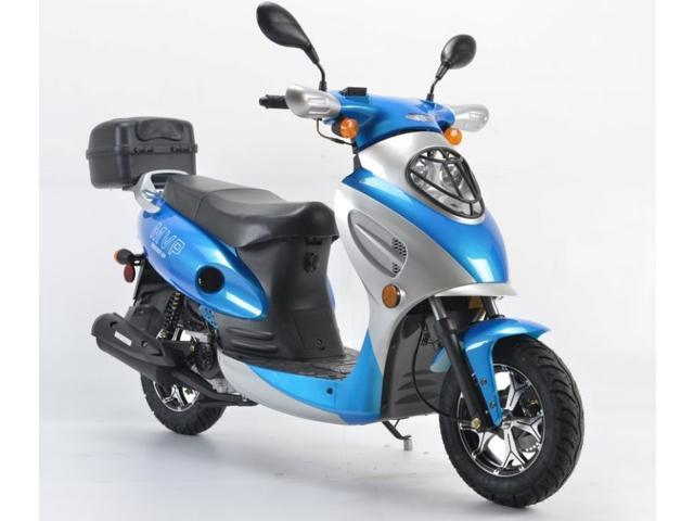 Jiangsu baodiao locomotive boom 49cc street legal gas for Motor scooter blue book
