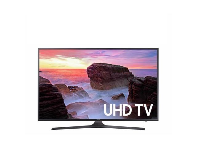 "Refurbished: Samsung UN43MU630DFXZA 4K 43"" LED TV, Black - OEM"