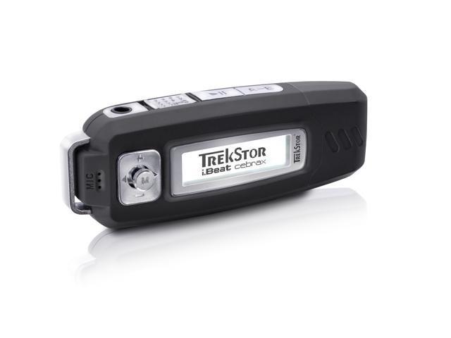 TrekStor i.Beat cebrax MP3-Player 4GB  Black