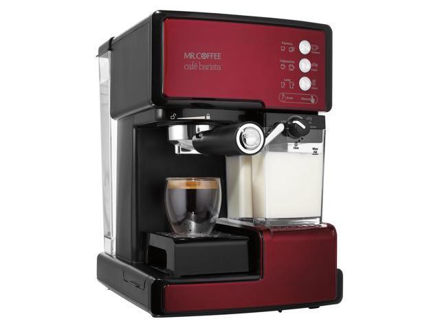 Mr. Coffee Café Barista - Red BVMC-ECMP1106