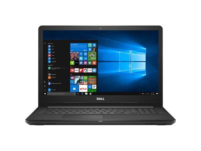 "Dell Inspiron 5000 Series 15.6"" HD Notebook, Intel Core i7-7500U Upto 3.5GHz, 8GB DDR4, 256GB SSD, DVD-RW, Wifi, Bluetooth, HDMI, Windows 10 Professinal 64Bit"