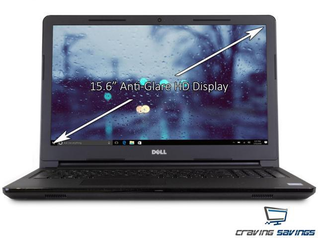 "Dell Inspiron 15.6"" HD Notebook, Intel Quad-Core Pentium N5000 Upto 2.7GHz, 4GB DDR4, 128GB SSD, HDMI, Card Reader, Wi-Fi, Bluetooth, USB, Windows 10 Professional 64Bit"
