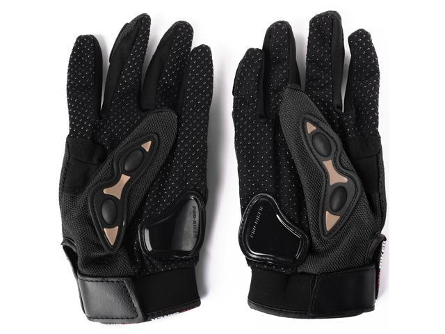 XCSOURCE Full Finger Safety Bike Motorcycle Racing Gloves For Pro-biker Black L OS437