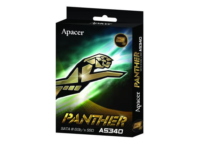 "Apacer AS340 PANTHER 2.5"" 120GB SATA III Internal Solid State Drive (SSD)/120G"