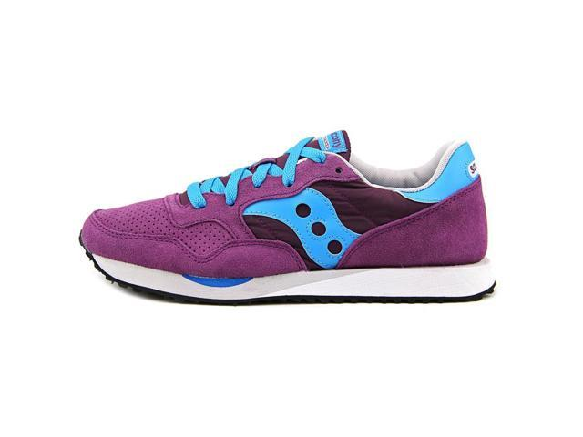 Saucony Dxn Trainer Women US 9 Purple Sneakers