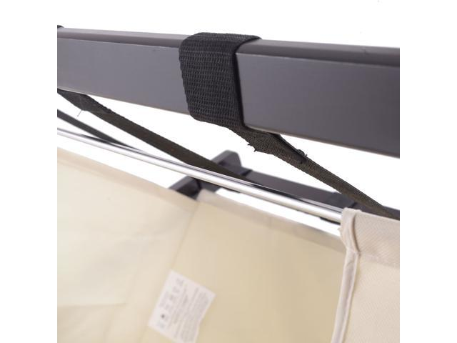 Wood Folding Luggage Rack Bedroom Suitcase Stand Hamper Laundry Cloth Bag  ...