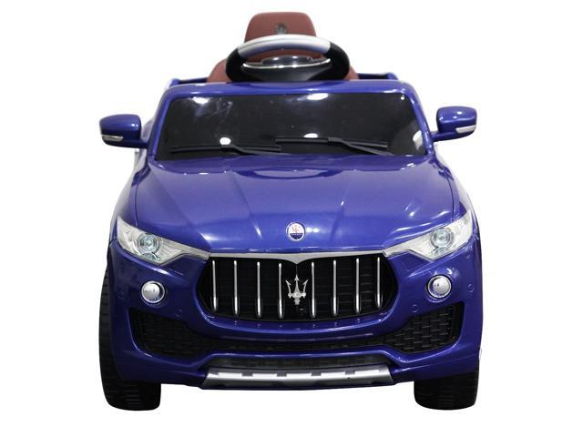6V Licensed Maserati Kids Ride On Car RC Remote Control Opening Doors MP3 Swing ...