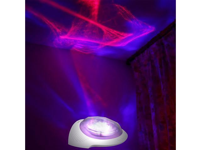 SOAIY Remote Bluetooth Aurora Night Light Projector And Relaxation - Light show for bedroom