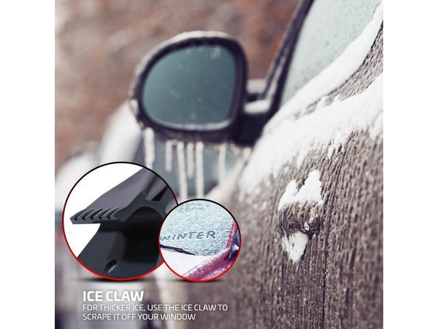Professional Ice Scraper & Crusher Tool For Ice & Snow Removal | Breaks & Removes Snow & Frost From Your Car's Windshield | Anti-Scratch, Handheld, Innovational Tool For Your Vehicle, Truck & SUV