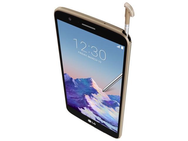 LG Stylo 3 LGM400DF 16GB Unlocked GSM Nano SIM Phone w/ 13MP Camera - Gold