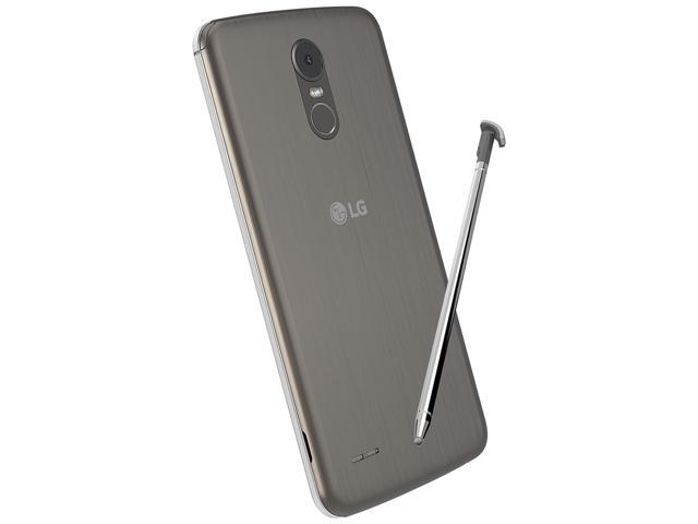 LG Stylo 3 LGM400DF 16GB Unlocked GSM Nano SIM Phone w/ 13MP Camera - Titanium
