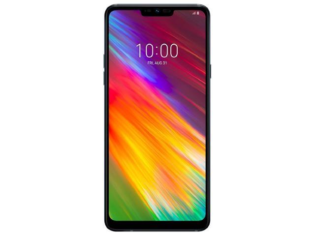 LG G7 Fit 64GB Dual-SIM GSM Phone w/ 16MP Camera - Aurora Black