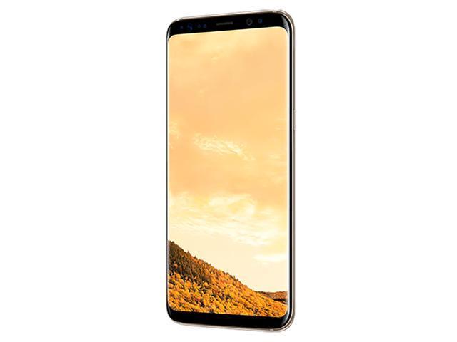 Samsung Galaxy S8 G950F 64GB Unlocked GSM Phone w/ 12MP Camera - Maple Gold