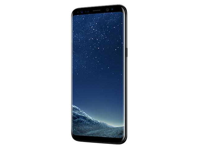 Samsung Galaxy S8 G950F 64GB Unlocked GSM Phone w/ 12MP Camera - Midnight Black