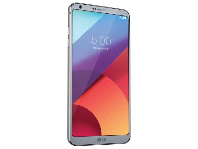 Refurbished: LG G6 H872 32GB T-Mobile Locked Android Phone w/ Dual 13MP Camera - Ice Platinum