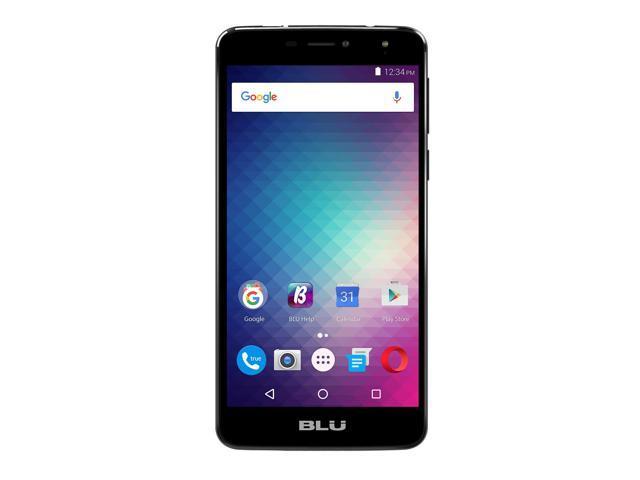 Refurbished: BLU Studio XL2 S0270UU 16GB Unlocked GSM 4G LTE Quad-Core Phone w/ 13MP Camera - Black