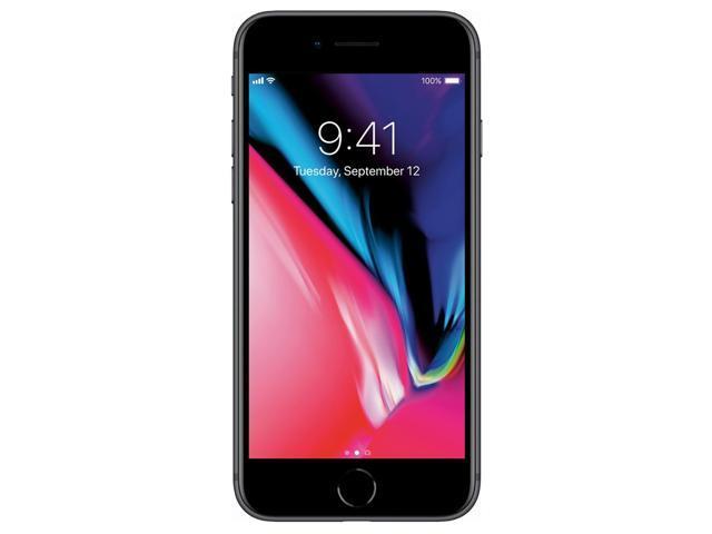 Apple iPhone 8 64GB Unlocked GSM/CDMA Phone w/ 12MP Camera - Space Gray