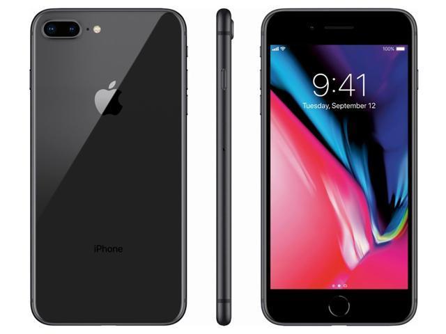 Refurbished: Apple iPhone 8 Plus 64GB Unlocked GSM Phone w/ Dual 12MP Camera - Space Gray