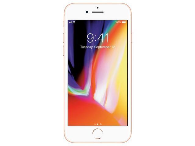 Apple iPhone 8 64GB Unlocked GSM/CDMA Phone w/ 12MP Camera - Gold