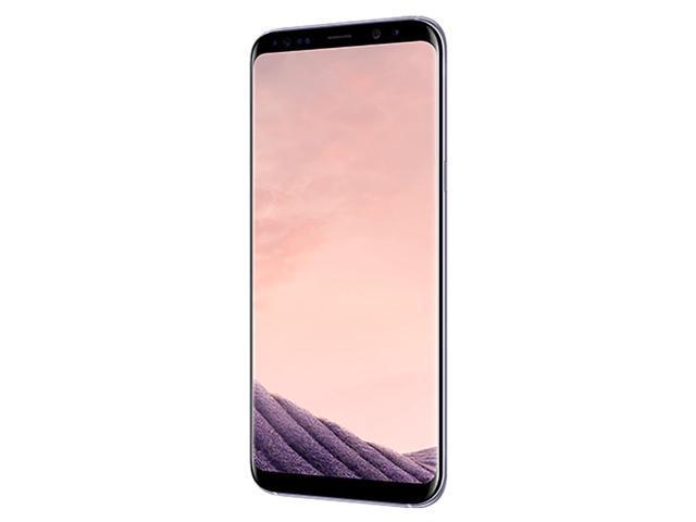 Refurbished: Samsung Galaxy S8+ G955U 64GB Unlocked GSM U.S. Version Phone - w/ 12MP Camera - Orchid Gray