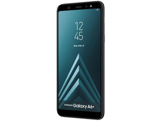 Samsung Galaxy A6+ (2018) A605 32GB Unlocked GSM Dual-SIM Phone w/ Dual 16MP|5MP Camera - Black (International Version)