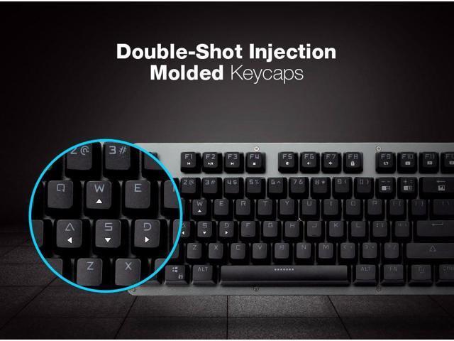 f956fe0a457 Mantistek GK2 104 Keys NKRO RGB Mechanical Gaming Keyboard - Black Switch  ...