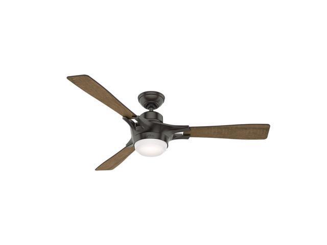 "Hunter WiFi Enabled HomeKit Compatible  54"" Signal Noble Bronze Ceiling Fan"