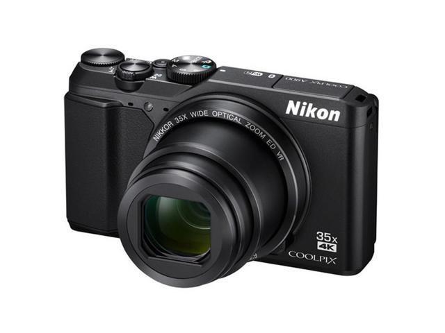 Nikon Coolpix A900 20MP Digital Camera 35x Optical Zoom + 32GB Photo Editing Kit (International Version)