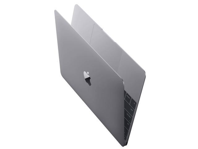 Refurbished: Apple A Grade Macbook 12-inch (Retina, Space Gray) 1.2GHz Core M (Early 2015) MJY42LL/A 512 GB SSD 8 GB Memory 2304x1440 Display Mac OS X v10.12 Sierra Power Adapter Included - OEM
