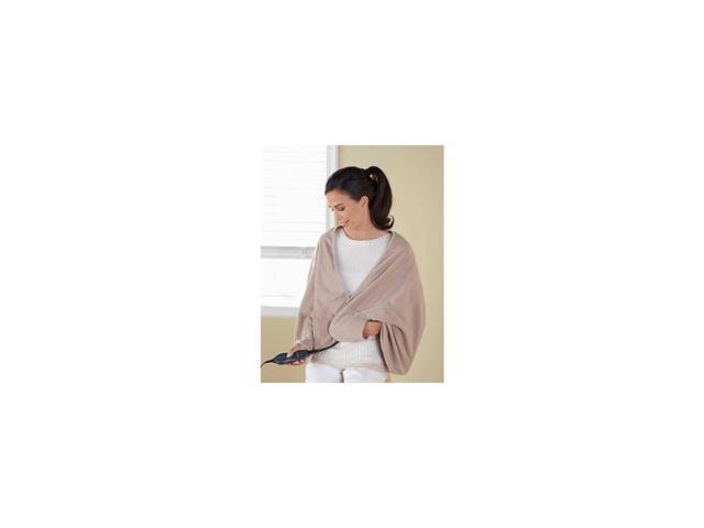 Sunbeam Chill-Away™ Personal Heated Wrap, Sand TCFQR-783-44