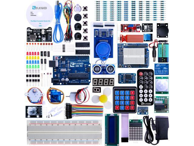 Elegoo for arduino uno r project most complete starter