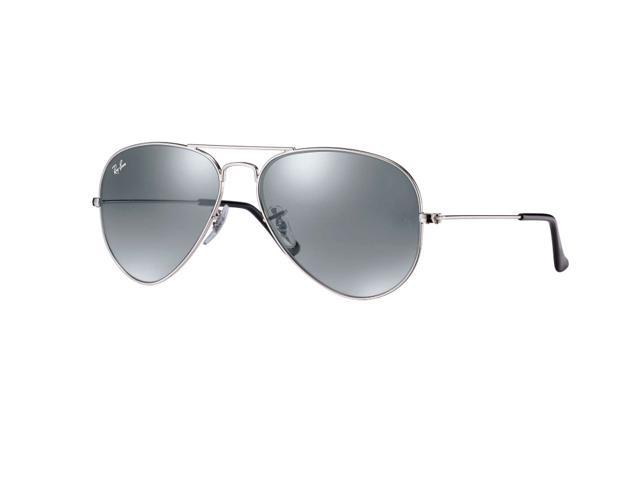 c935a2034c Ray Ban Aviator Flash Mirror Sunglasses - Silver Mirror   Silver Frame  RB3025 W3277 ...