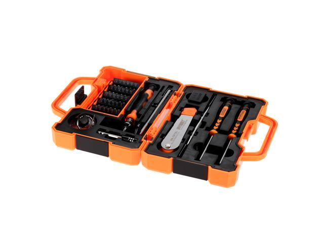 EC2WORLD 45 in 1 Professional Screwdriver Set Precise Hand Repair Kit Opening Tools for Cellphone Computer Electronic Maintenance