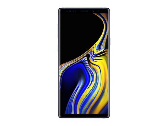 Samsung Galaxy Note9 SM-N960F 128GB (No CDMA, GSM only) Factory Unlocked 4G/LTE Smartphone - Ocean Blue