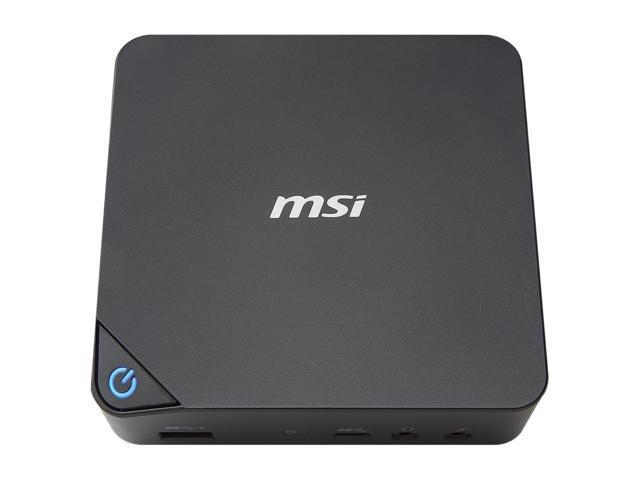 Refurbished: MSI Cubi FulI system Intel 3205U 1.5 GHz 2GB DDR3 32 GB SSD Windows 10 Kodi