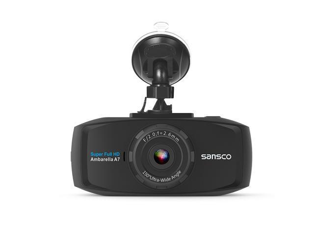 SANSCO 2K Extreme HD Car Dash Cam