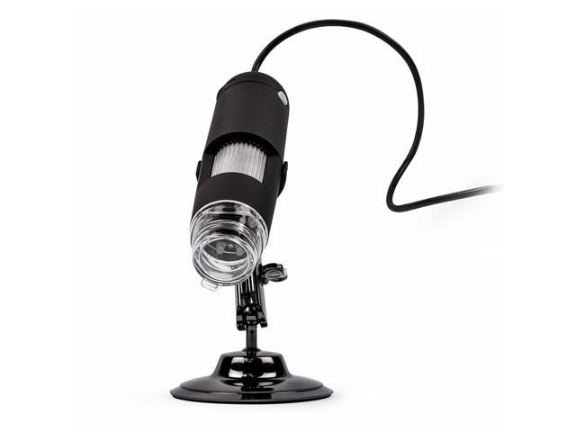 Veho Discovery USB Digital Microscope with Photo & Video/Webcam & Flexi Alloy Stand (20-400x)