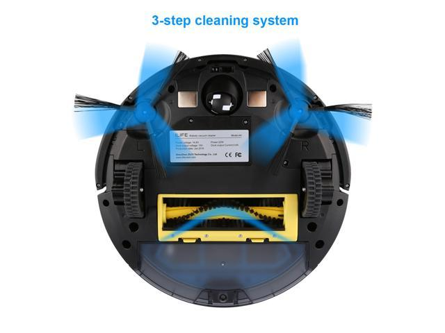 ILIFE A4s Robot Vacuum Cleaner sweeper 2017 Updated Version Intelligent Remote Control Self-recharging - OEM